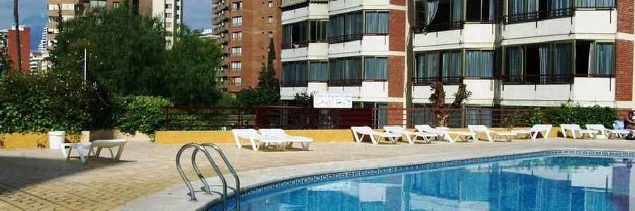 Europa Center Apartments, Benidorm, Spain